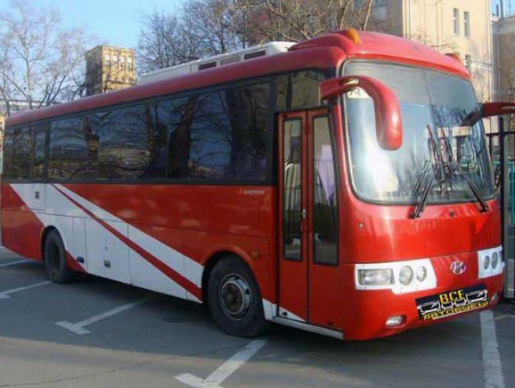 фотография Автобус Hyundai Aero Town (810)