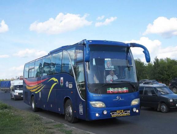 фотография Автобус Golden Dragon Grand Cruiser